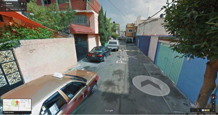 FK Partizan street - Mexico City
