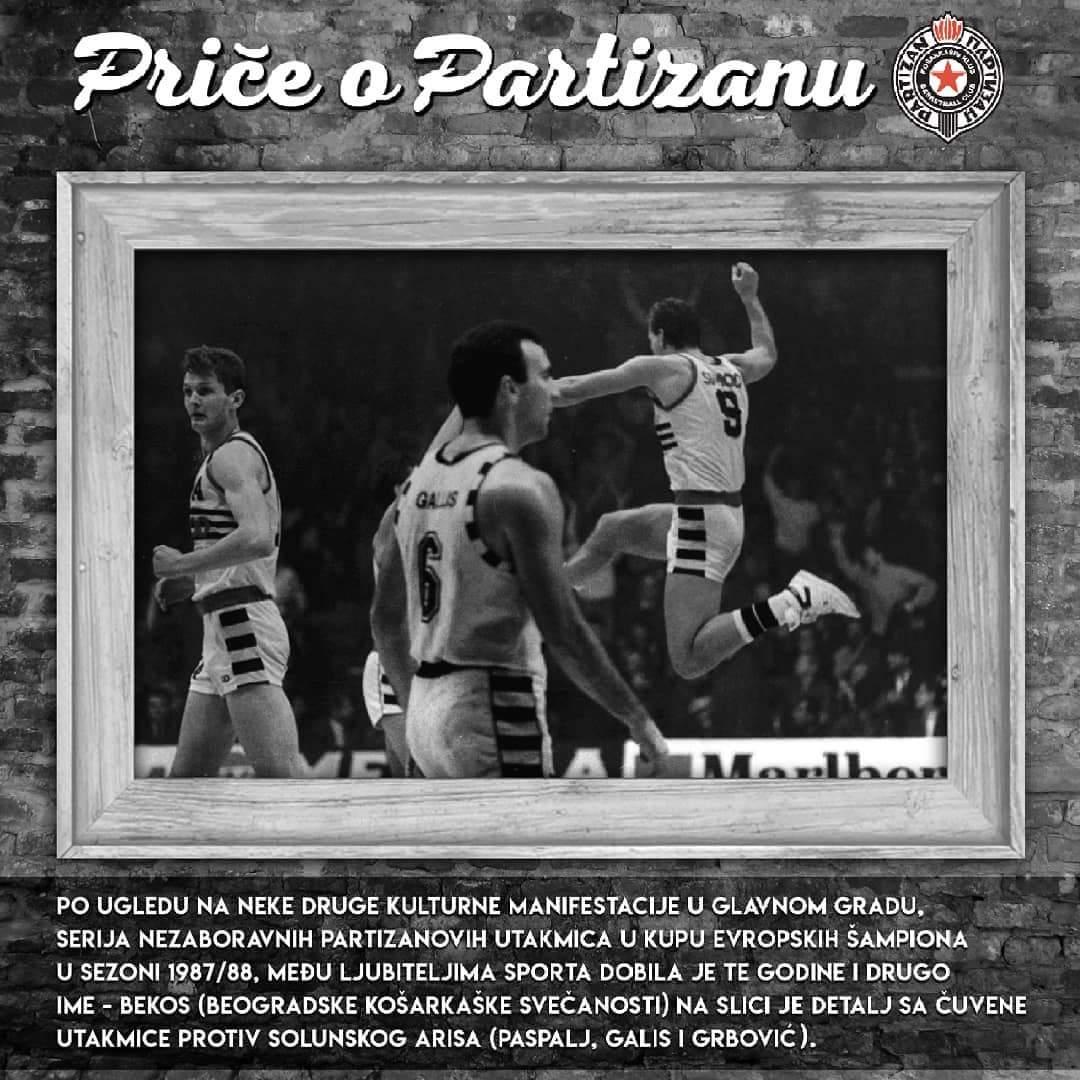 Priče o Partizanu- POP 13, Beogradske košarkaške svečanosti (BEKOS)
