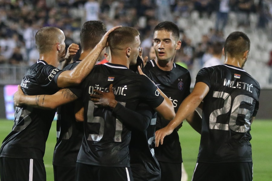 Partizan 3 : 0 Rudar Pljevlja ; GOLOVI SA UTAKMICE (VIDEO)